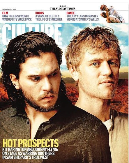 UK Culture Magazine September 2018: Kit Harington Johnny Flynn