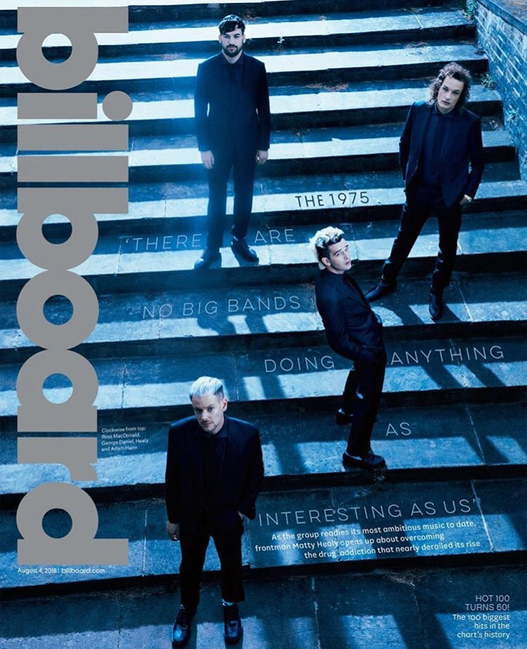 US Billboard Magazine August 2018: The 1975 Matty Healy Cover