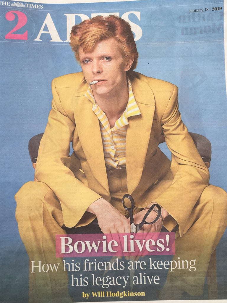 UK Times 2 Supplement Jan 2019 David Bowie Timothee Chalamet
