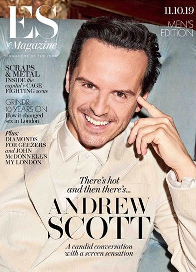 LONDON ES MAGAZINE - 11th October 2019: ANDREW SCOTT COVER FEATURE