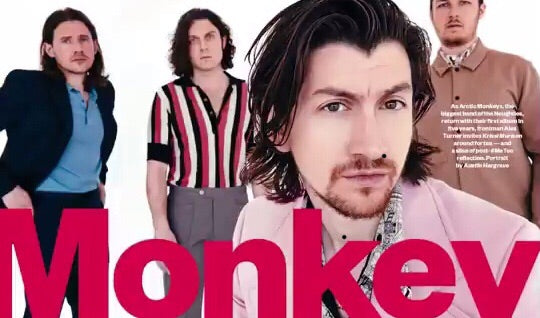 Sunday Times Magazine May 2018: Alex Turner ARCTIC MONKEYS COVER STORY