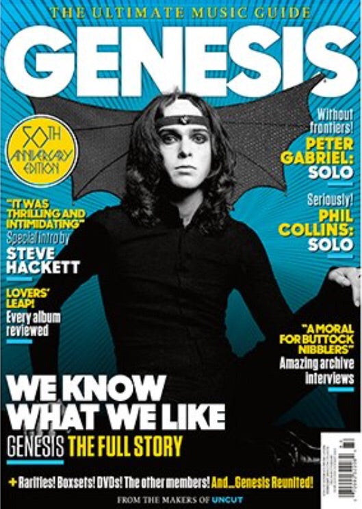 UK UNCUT Magazine Feb 2019: GENESIS Ultimate Music Guide 50th Anniversary Issue