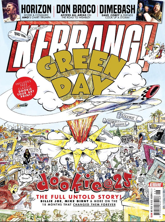 UK Kerrang! Magazine Feb 2019: Green Day - 25th Anniversary Edition
