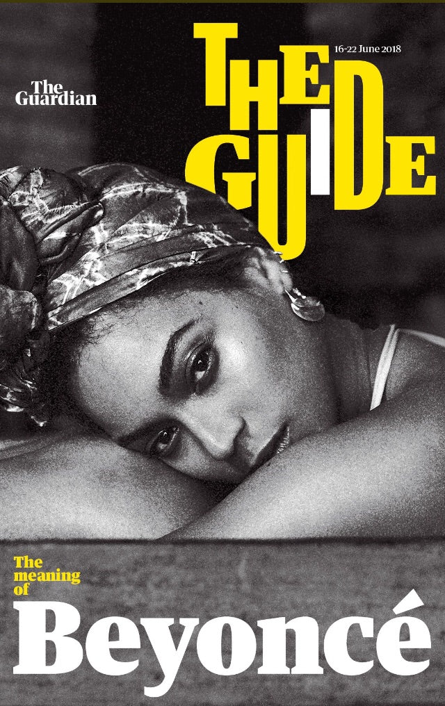 UK Guardian Guide Magazine June 2018: Beyonce Cover