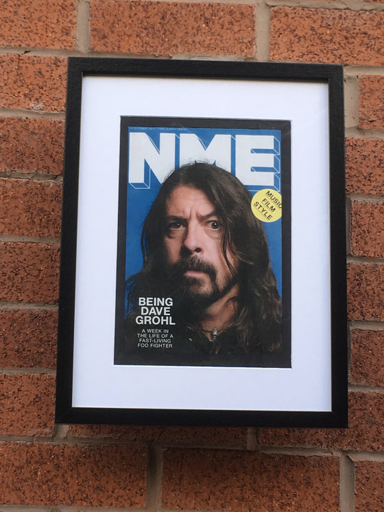 UK NME Magazine 2017: DAVE GROHL (The Foo Fighters) Limited Framed Edition