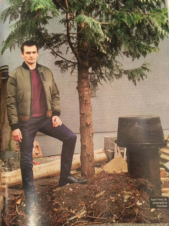 Rupert Friend on the cover of Times Magazine