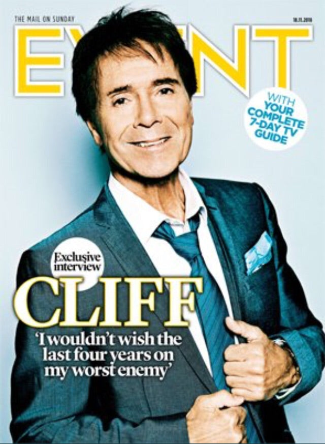 UK Event Magazine November 2018: Cliff Richard Cover Exclusive