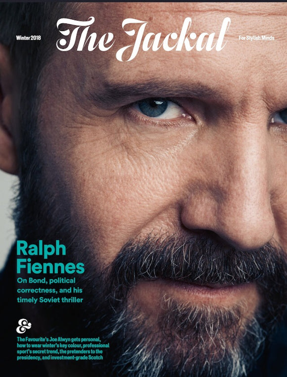 London Jackal Magazine November 2018 Ralph Fiennes Cover