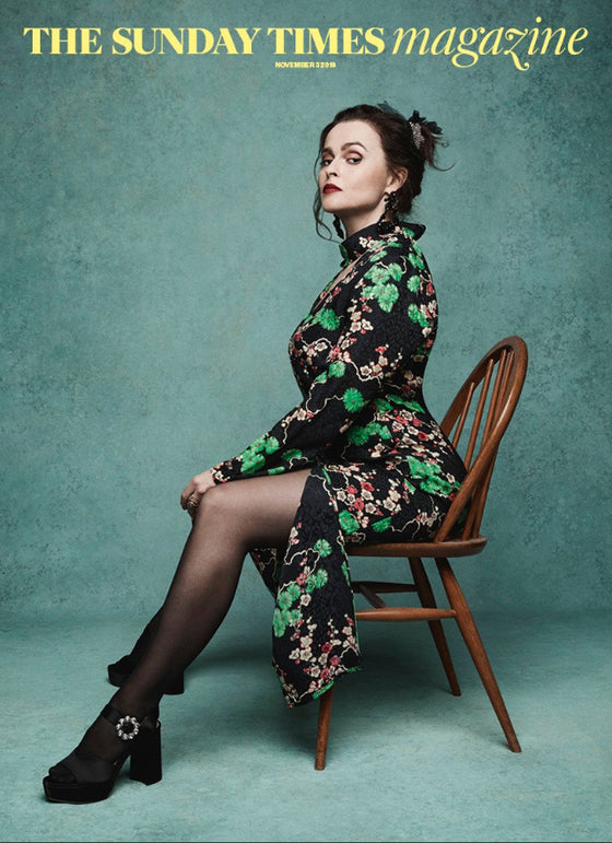 Sunday Times Magazine 3rd November 2019: HELENA BONHAM CARTER COVER FEATURE