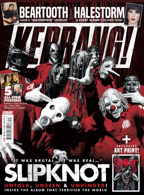 UK Kerrang! Magazine July 2018: SLIPKNOT Cover & Art Print
