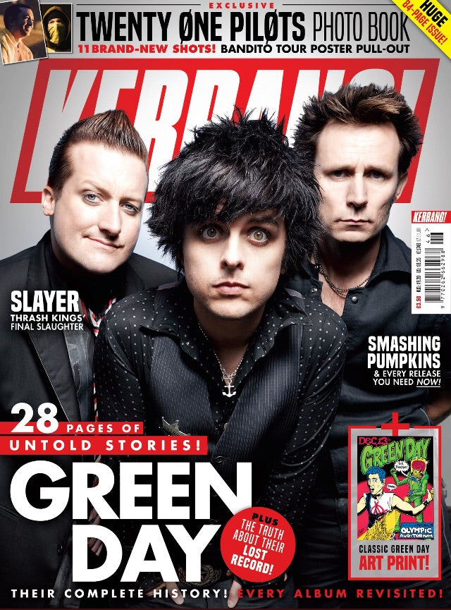 UK Kerrang! 17th November 2018 Green Day Twenty One Pilots