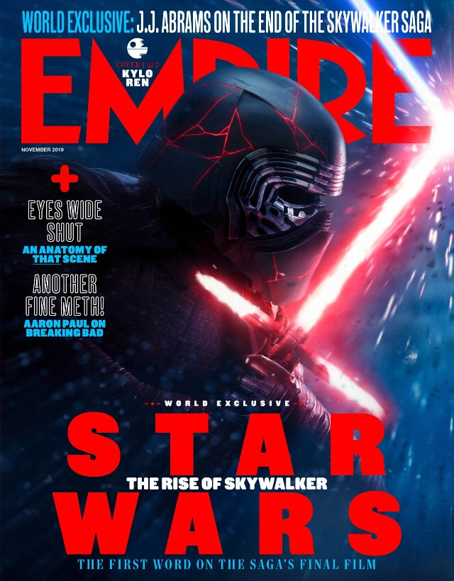 EMPIRE Magazine November 2019: Star Wars (Kylo Ren) Adam Driver