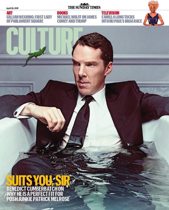 UK Culture Magazine April 2018 Benedict Cumberbatch Cover