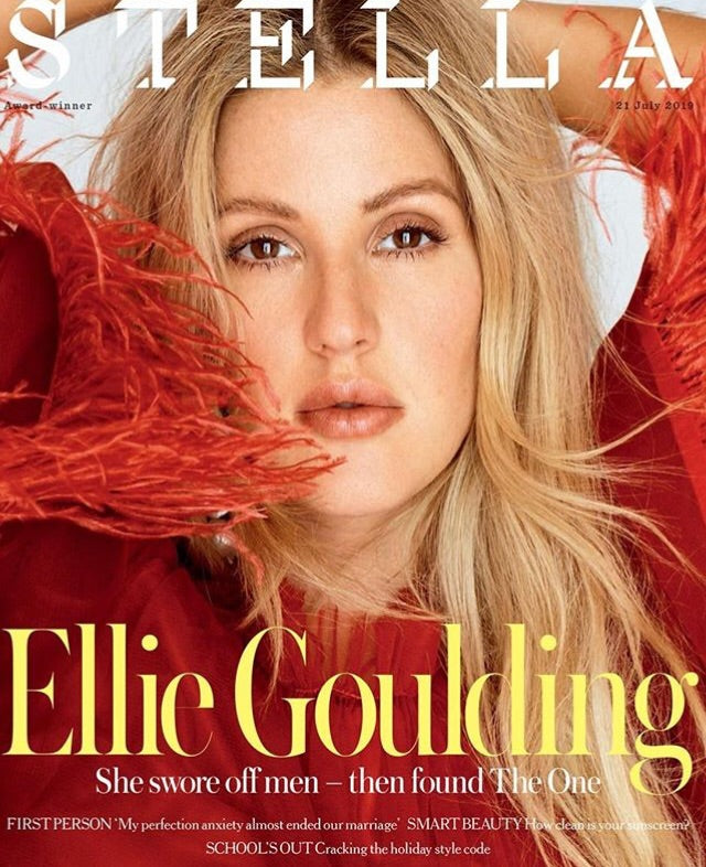 UK Stella magazine July 2019: Ellie Goulding Cover Interview