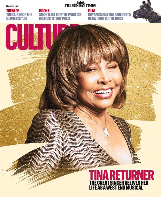 Exclusive Interviews Pictures More: UK CULTURE Magazine MARCH 2018: TINA TURNER Exclusive