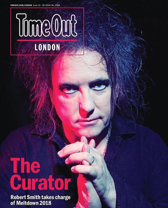 London Time Out Magazine June 2018 Robert Smith The Cure