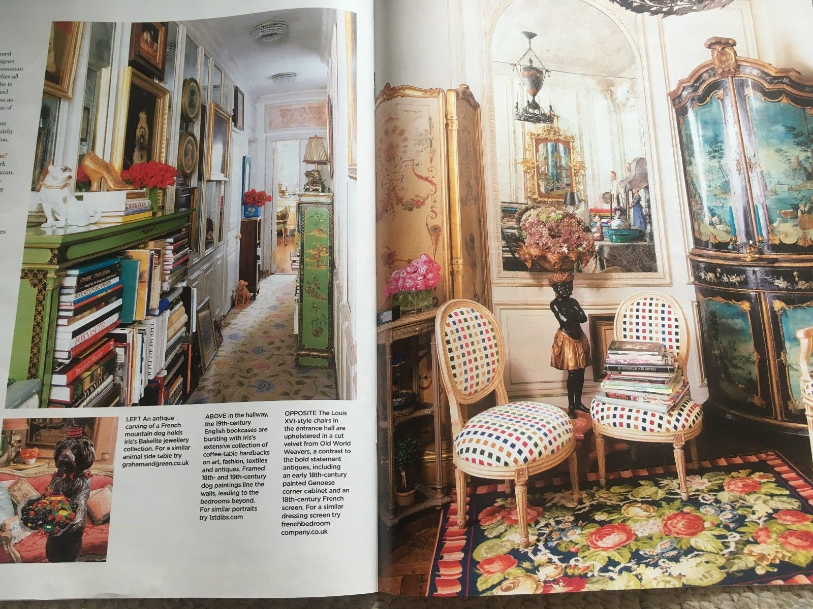 Uk you magazine june 2018 iris apfel at home in her new york apartment