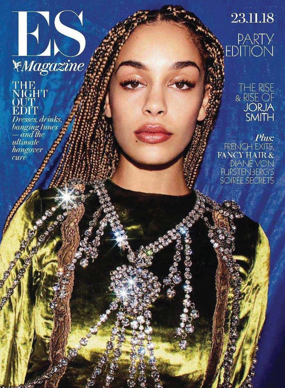London ES Magazine November 2018: JORJA SMITH COVER & FEATURE