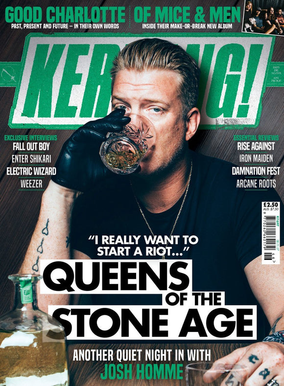 Kerrang! Magazine 15th November 2017 Josh Homme Queens of the Stone Age QOTSA