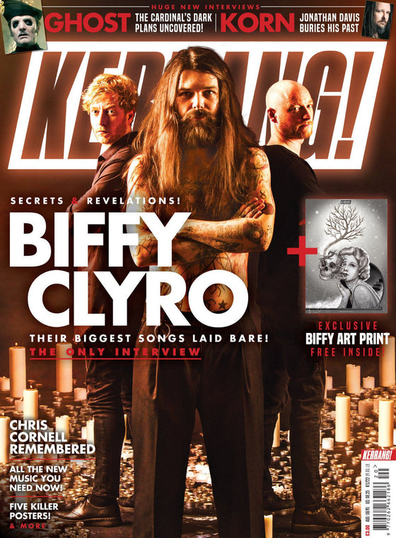 KERRANG! May 2018: BIFFY CLYRO Chris Cornell GHOST Korn SOUNDGARDEN Audioslave