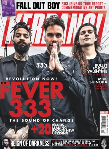 Kerrang! Magazine April 2018 Mike Shinoda Linkin Park Fall Out Boy Insahn