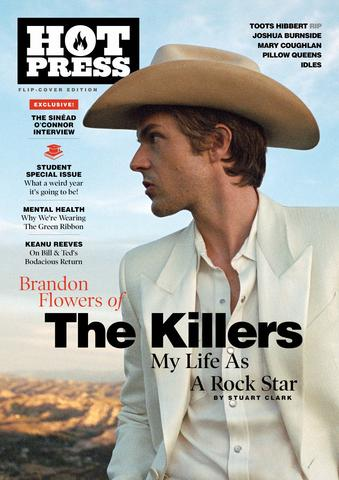 HOT PRESS 44-10: THE KILLERS & SINÉAD O'CONNOR (FLIP COVER SPECIAL)