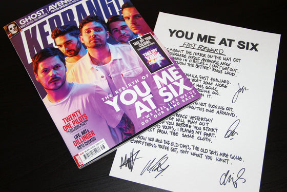 Kerrang! September 15th 2018: You Me At Six Twenty One Pilots Avenged Sevenfold