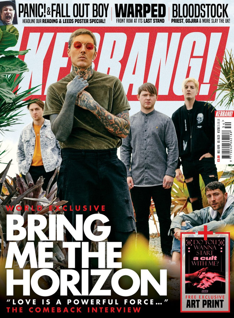 Kerrang! Magazine August 2018: Bring Me The Horizon - The Comeback Interview