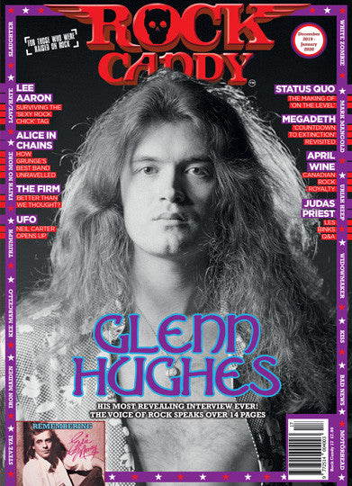 Rock Candy Magazine December 2019 -January 2020 Glenn Hughes Deep Purple