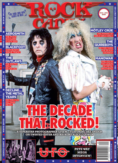 Rock Candy Magazine Issue 20: ALICE COOPER Dee Snider UFO Pete Way AEROSMITH
