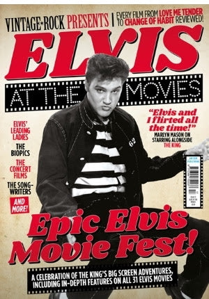 Elvis At The Movies - Vintage Rock Presents Magazine February 2021