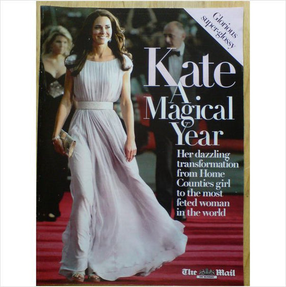 Kate Middleton - A Magical Year UK Mail on Sunday Glorious Glossy Magazine