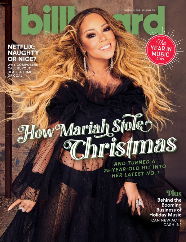 MARIAH CAREY - US BILLBOARD MAGAZINE - DECEMBER 27 2019