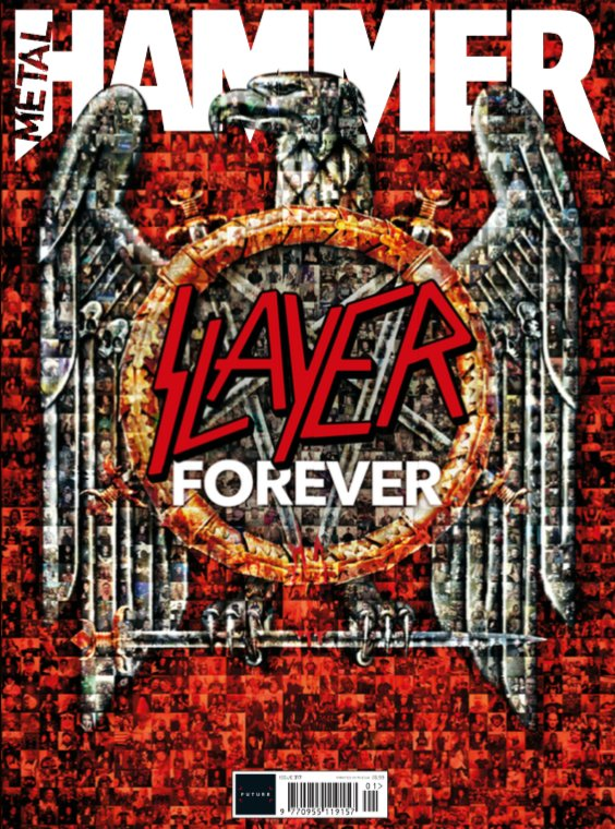 UK Metal Hammer Magazine January 2019 - Slayer - The Ultimate Tribute Issue