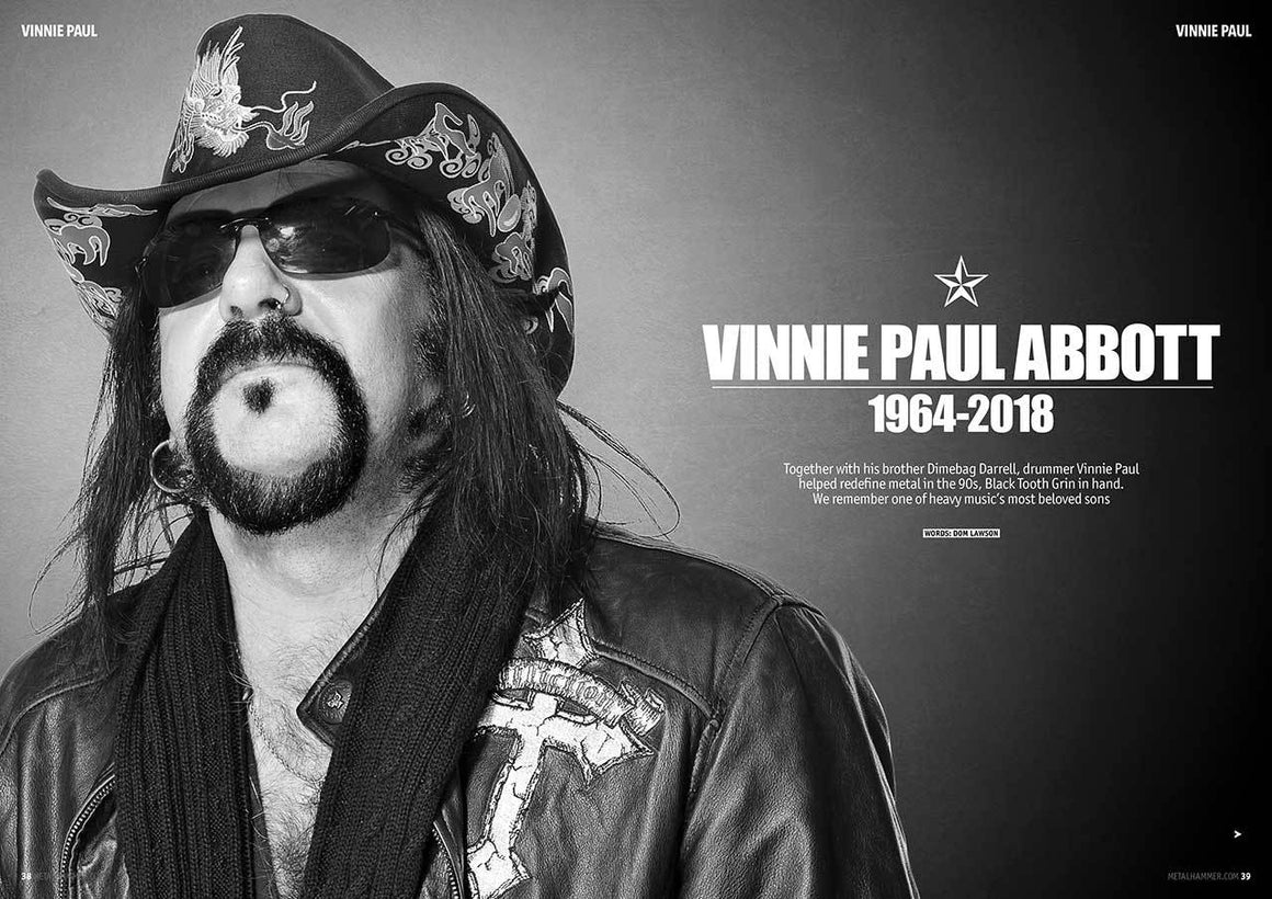 UK Metal Hammer SUMMER 2018: VINNIE PAUL Pantera NIGHTWISH Alice in Chains
