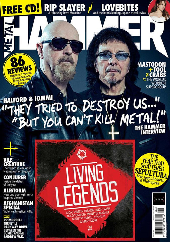 Metal Hammer Magazine APR 2018 BLACK SABBATH Tony Iommi & Rob Halford Exclusive