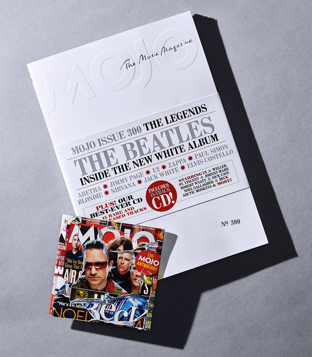 UK Mojo Magazine November 2018 #300 The Beatles The White Album & Exclusive CD with Paul Weller