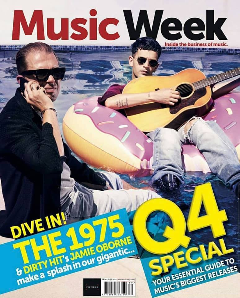 UK Music Week Magazine September 2018: Matt Healy The 1975 Cover Story