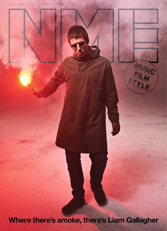 NME Magazine Liam Gallagher Cover