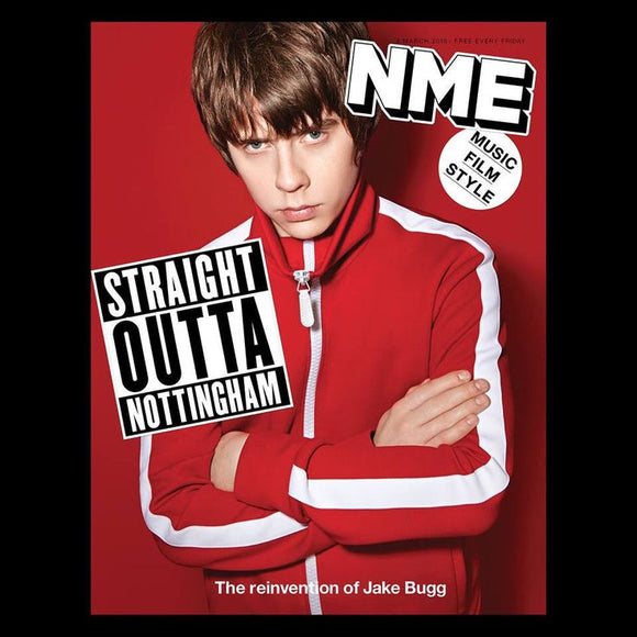 Jake Bugg on the cover of NME Magazine