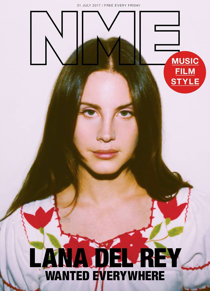 Lana Del Rey Photo Cover Interview Uk Nme Magazine July 21st 2017 Yourcelebritymagazines