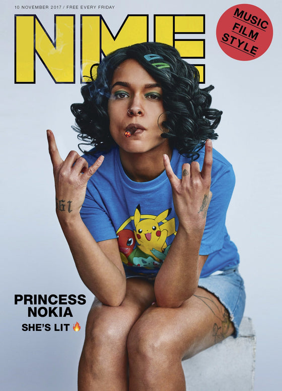Princess Nokia on the cover of NME Magazine