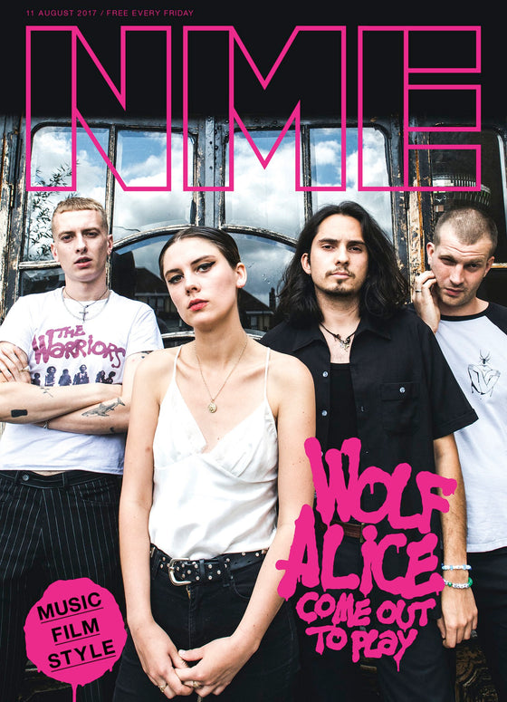 WOLF ALICE Photo Cover interview UK NME MAGAZINE August 11th 2017