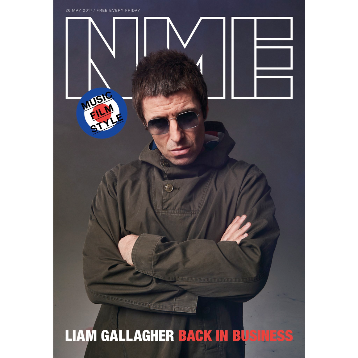 NME Magazine May 2017 Liam Gallagher Chris Cornell Charlie Hunnam