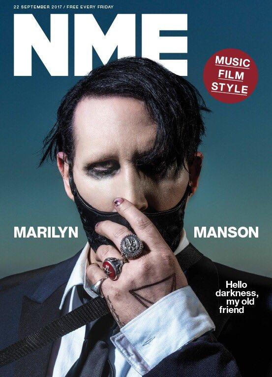Marilyn Manson Cover and World Exclusive Interview