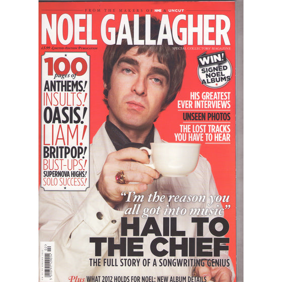 NME Magazine OASIS Noel Gallagher The Ultimate Fans Guide Special Collectors Issue