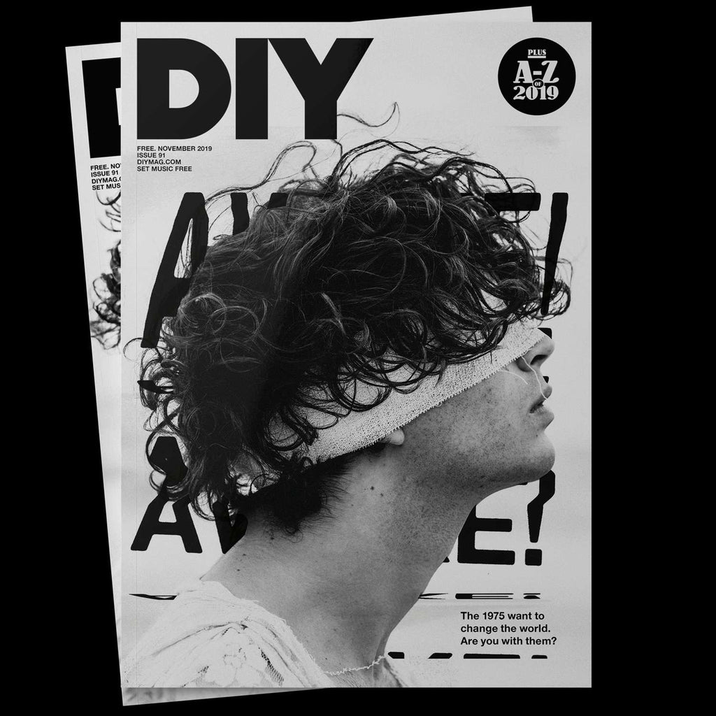 DIY Magazine November 2019: The 1975 (Matty Healy) Cover Exclusive