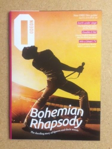 BOHEMIAN RHAPSODY / QUEEN / RAMI MALEK Odeon Magazine September / October 2018