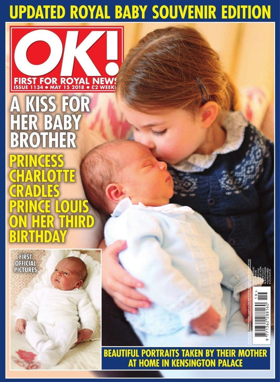 OK! magazine 15 May 2018: Prince Louis & Charlotte Royal Baby Souvenir Edition