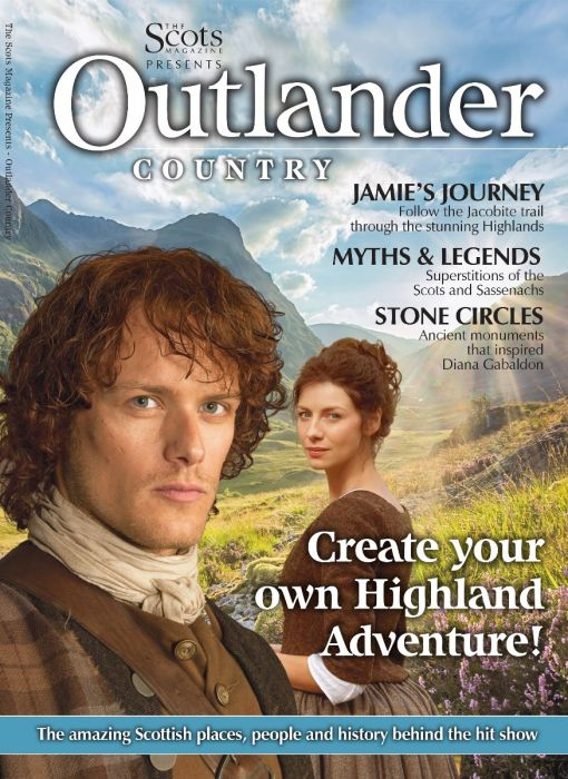 THE SCOTS MAGAZINE 2018 PRESENTS OUTLANDER SAM HEUGHAN CAITRIONA BALFE